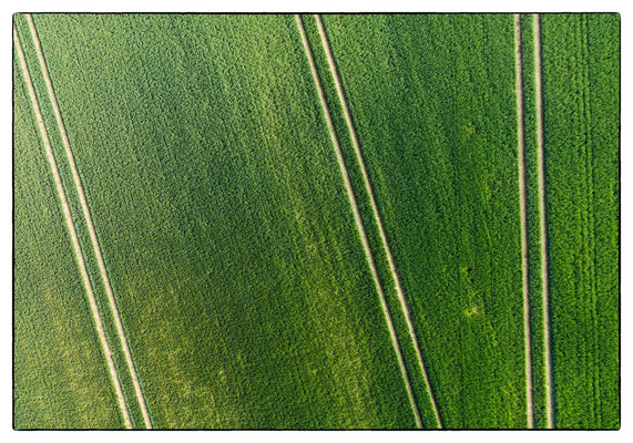 Trough the Lens of a Drone: Fields