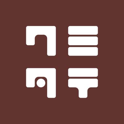 「シェア工房 クミタテ」ロゴマーク 2017