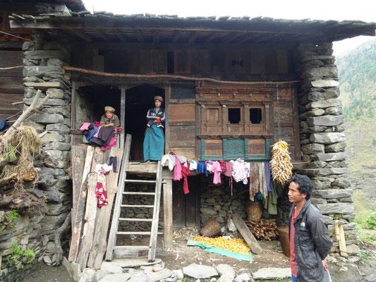 Das Haus von Rajan Lama 2013 (Foto Werner Stahel)