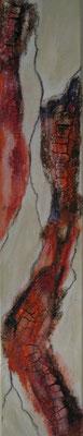 fertig gestellt 2019 - Titel: In Struktur sieben - Format 15 x 80 cm - Preis 120,00 €