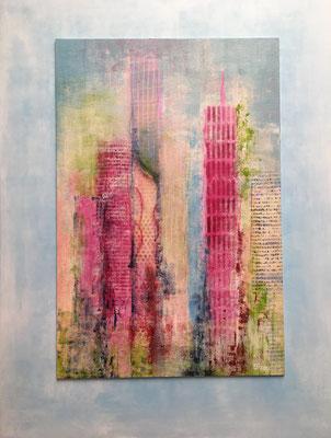 fertig gestellt 2020 - Titel: Skyline - Format: 60 x 80 cm - Preis 230,00 €