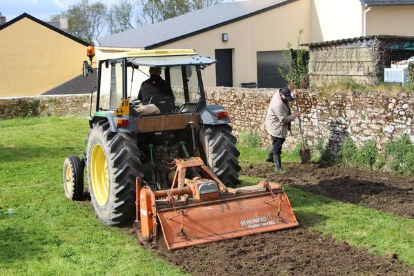 Course Philippe VS Tracteur
