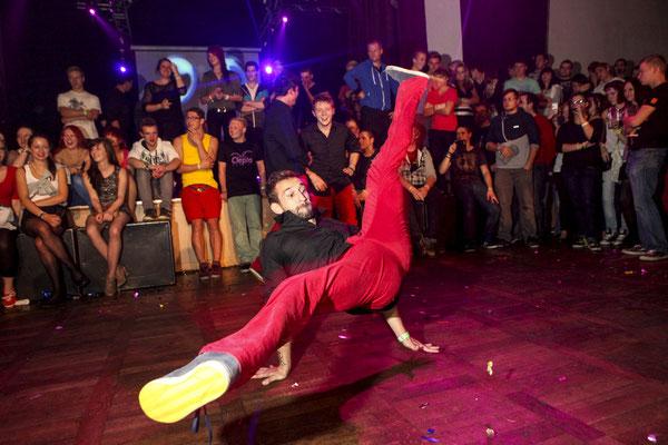 Tänzer im Saale-Orla-Kreis auf Event, Fotograf: Tom Wenig