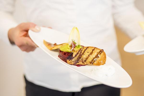Werbefotograf Jena, Foto zeigt Speise aus Fisch
