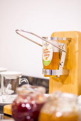 Werbefotograf nahe Jena, Foto zeigt Frühstückshonig