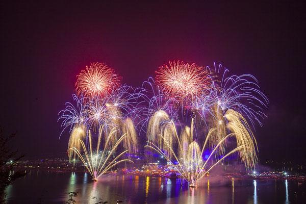 Feuerwerk als Eventhighlight, Fotograf: Tom Wenig