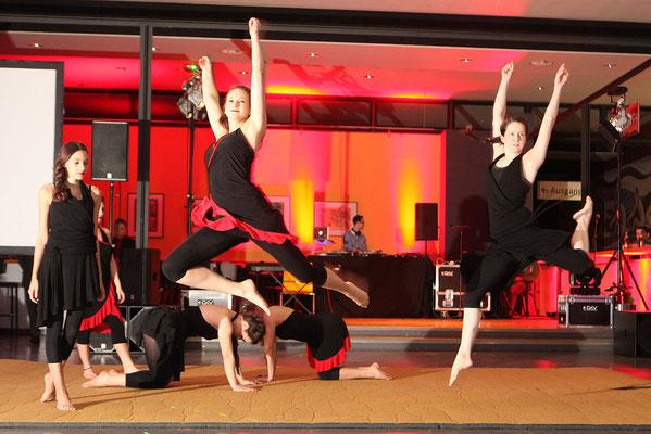Sportfotograf für Sportlerball, Foto zeigt Tänzer in Jena, Fotograf: Tom Wenig