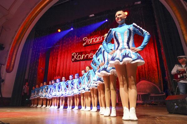Tanzgruppe zur Jenaer Karnevalsgala, Fotograf: Tom Wenig