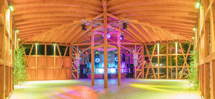 Immobilienfoto einer Tanzlocation in Thüringen, Fotograf: Tom Wenig