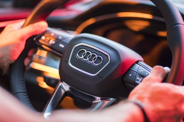 Autofotograf für Audi-Werbeauto in Jena