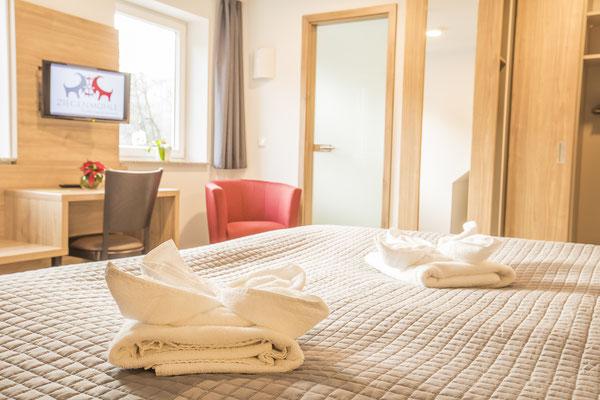 Hotelzimmer im Saale-Holzlandkreis, Fotograf: Tom Wenig