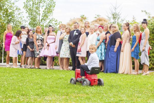 Hochzeitsgesellschaft in Jena, Fotograf: Tom Wenig