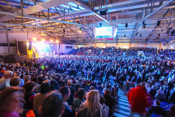 Eventfotograf für Konzert in der Sparkassenarena Jena