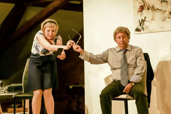 Die Wunderübung, Elke Schwald, Marcus Harm, Regie: Karl Johann Müller