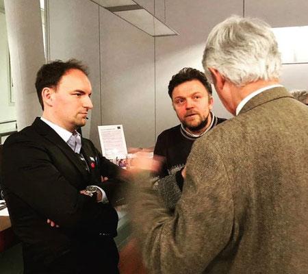 Friedhelm Frischenschlager im Gespräch mit Dietmar Pichler im Haus der Europäischen Union in Wien