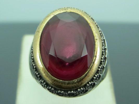 серебряные украшения с рубином в серебре