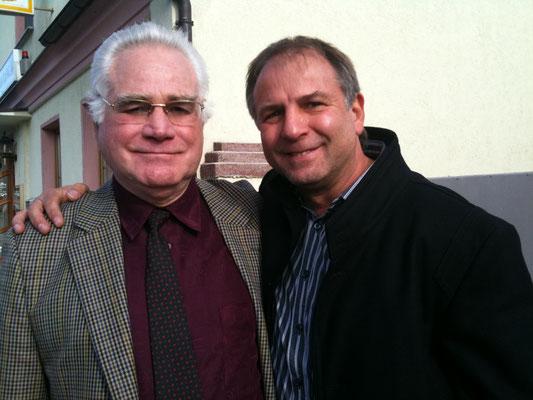 u.a. mein Boxtrainer Detlef Dahn