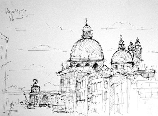 Reiseskizze Venedig