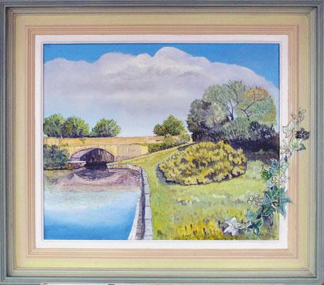Shannon River - Irland; 60 x 50 cm Öl auf Leinwand (verkauft)