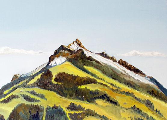Elsighorn von Frutigen aus Öl auf Leinwand 120 x 100 cm