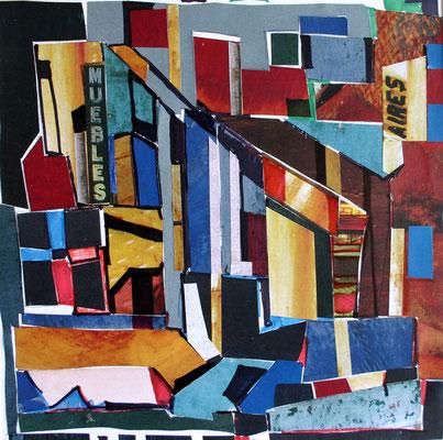 Die Farben Argentiniens 30 x 30 Collage