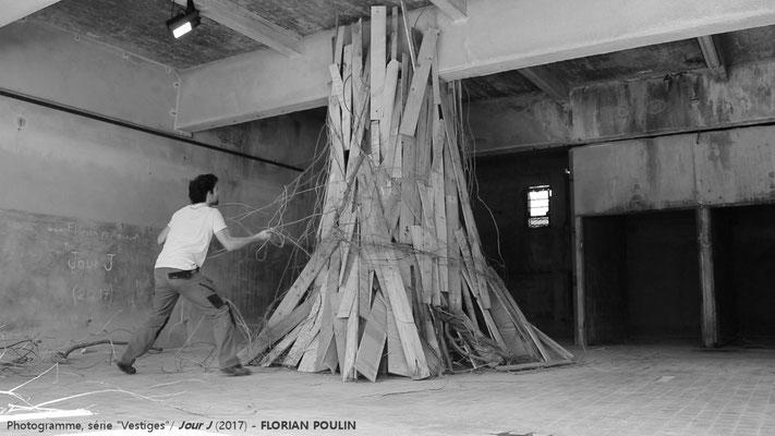 Jour J (démontage de l'installation) - FLORIAN POULIN