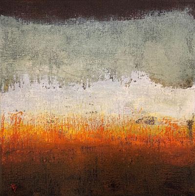Ressac (huile sur toile - 30 x 30 cm)