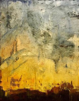 Urban Memories - Notre Dame (huile sur toile - 92 x 73 cm)