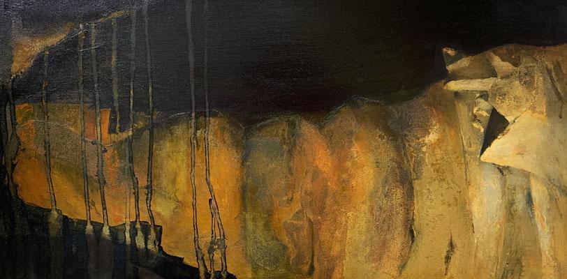 Métamorphose (huile sur toile - 30 x 60 cm)
