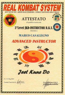 Advanced Instructor