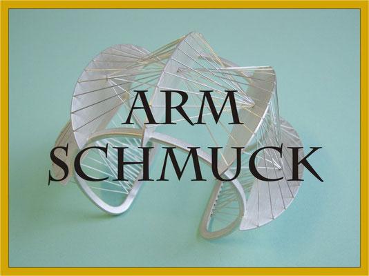 Armschmuck Armreif Silber Masswerk Goldschmiede Konstanz