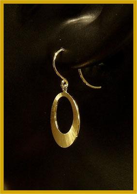 Ohrhänger in 750/- Gelbgold