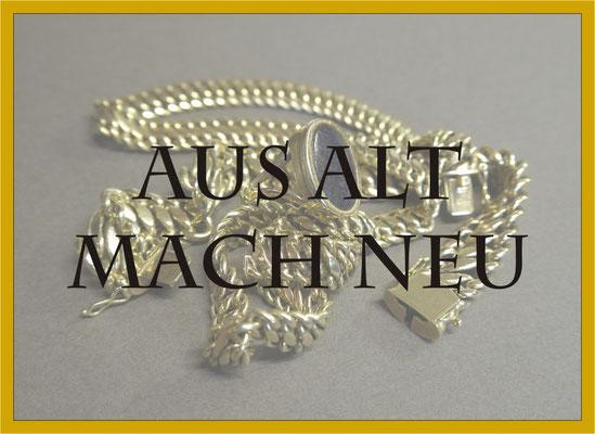 Aus Alt mach Neu Schmuck Umarbeitung Masswerk Goldschmiede Konstanz