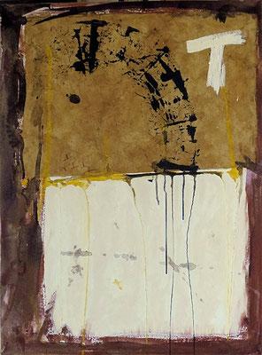 "T | 2013 | Mixed media on canvas | 80x60cm | 31.5""x23.6"""