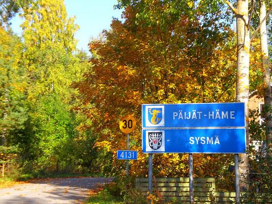 Willkommen in der Gemeinde Sysmä am Päijänne See