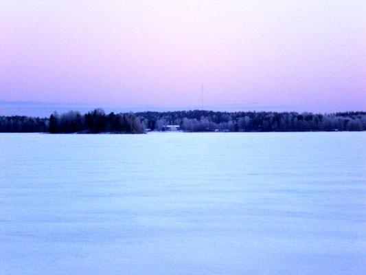 Immer wieder die unterschiedliche Farbenpracht der polaren Dämmerung erleben.