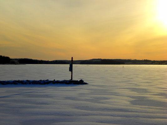 Ruhe und Gelassenheit im polaren Winter finden ...