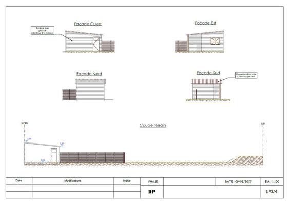 galerie a2 - Plans Permis Construire Déclaration Travaux