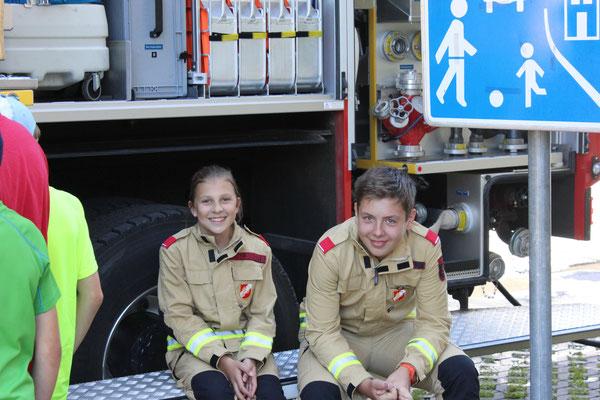 Ein großes Dank auch an Bianca und Lukas für die Hilfe!