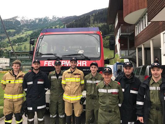 Donnerstag 4. Mai:  Brandsicherheitswache in der Nacht durch BTF Verbund Zell