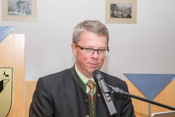 Rede von Bürgermeister Robert Pramstahler