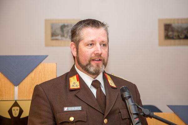 Rede von Bezirksfeuerwehrinspektor OBR Stefan Geisler