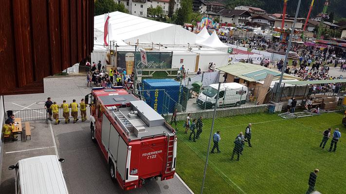 Samstag 6. Mai: Brandsicherheitswache am Nachmittag