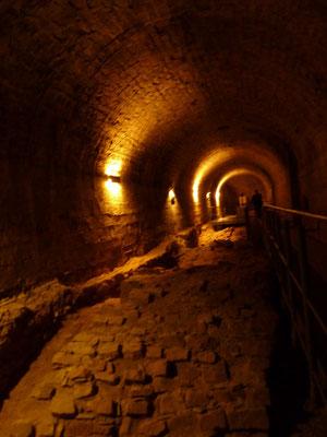 Original erhaltener Untergund der Festung