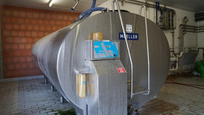 Milchtank & Plattenkühler - Hof Schmidt Geel