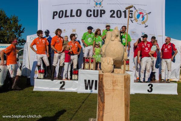 Kreation und Herstellung des Legacy Polo Pokals 2015