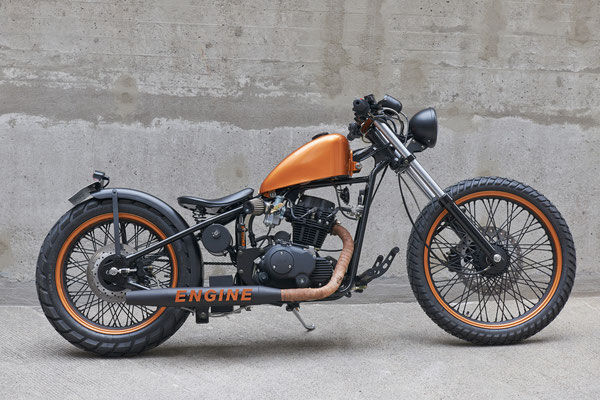 Mitgestaltung am ENGINE Bike.In Zusammenarbeit mit Cleveland Motorcycles. 2015
