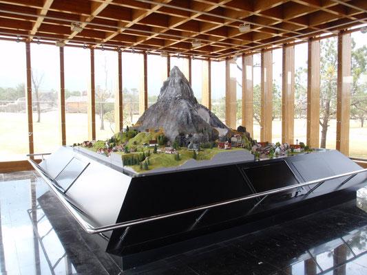 Darstellung der Schweiz. Schweizermuseum Liiang China. 2010