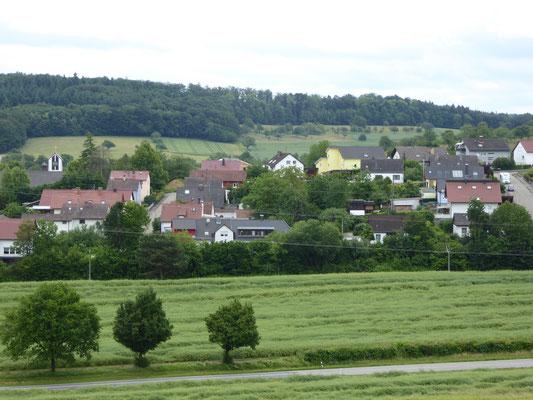 Finken- und Falkenstr. von Norden