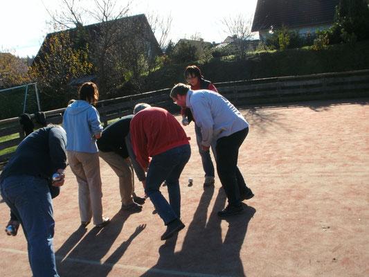 Ursprünglich haben wir auf dem Kleinfeld gespielt